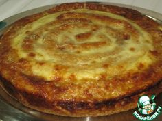"""Пирог """"Грибное чудо"""" - кулинарный рецепт"""