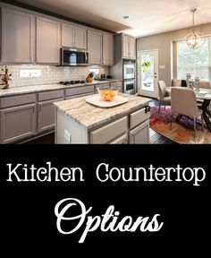 When selecting kitchen countertops, make sure to research all of the options available.  Here is a list of common countertop materials so you can decide what is best for your kitchen.