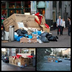 MINI Advertising Campaign - Christmas Boxes | Guerilla Marketing