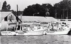 Fishing boat in the 1980s Ft. Pierce, Fl.