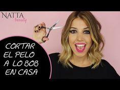 COMO CORTAR EL PELO A LO BOB EN CASA - YouTube