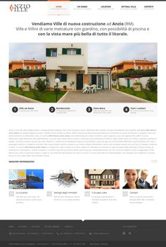 Anzio Ville #website #webdesign #bemorebedigital @hitframe @simonemimun @roynahum