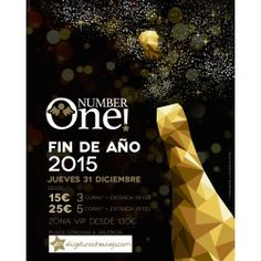 Nochevieja 2015 Valencia Entrada Number One