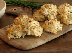 Parmesan Cheddar Chive Biscuits  - Recipes for Your Thanksgiving Feast on HGTV