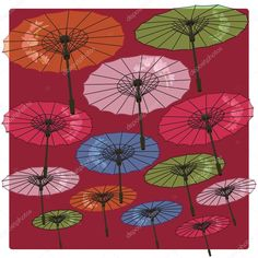 depositphotos_91568486-stock-illustration-color-umbrellas-decorated-with-flowers.jpg (1024×1024)