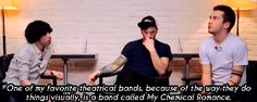 my chemical romance famous last words Twenty One Pilots Tyler Joseph Josh Dun ola gif tyler lol you could have said mcr and we would