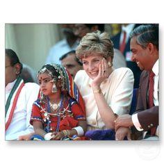 1992 Princess Diana India
