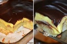 My list of dessert recipes to bake, taste and try, keeps getting longer and longer, and it's no wond . Baking Recipes, Cake Recipes, Dessert Recipes, Cupcake Icing, Cupcake Cakes, Frosting, Cupcakes, List Of Desserts, Boston Cream Poke Cake