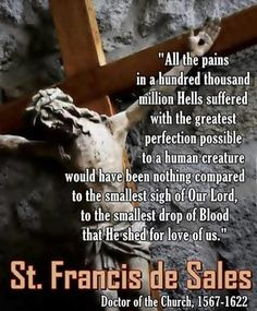 St Francis de Sales quote