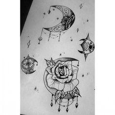 Mystical mandala color google search tattoo idea 39 s - Tatouage gitane signification ...
