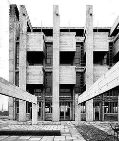 Institute Marchiondi Spagliardi, Milan, Italy. 1957 Vittoriano Viganò 1919-1996