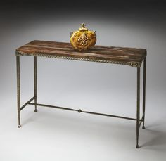 Malleable Industrial Style Console Table.