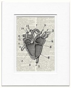 great thoughts come from the heart print