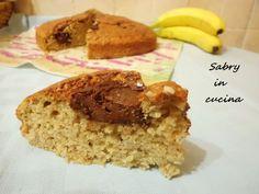 Torta soffice alla banana e nutella - Ricetta golosa