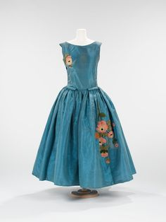 "Jeanne Lanvin ""Jolibois"" dress ca. 1922 via The Costume Institute of the Metropolitan Museum of Art"