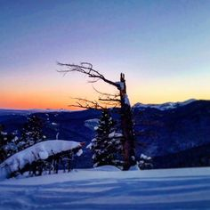 On instagram by splititkc #landscape #contratahotel (o) http://ift.tt/1msZjhR The last day of 2015 was pretty sweet.  Logged on around 10k of vert and the #sunset with the #tetons on the #horizon was sick. #happynewyear #humanpoweredadventures #splitboarding #mountains