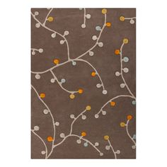I pinned this Willow Rug in Kelp Brown from the Best-Selling Rugs event at Joss and Main!