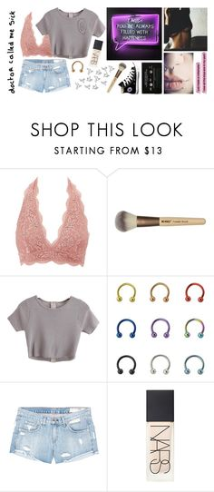 """""""from a night that time forgot"""" by frankiedancer ❤ liked on Polyvore featuring Charlotte Russe, rag & bone/JEAN, NARS Cosmetics and Converse"""