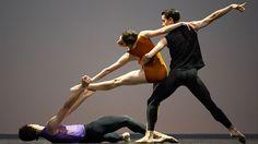 SF Ballet in Forsythe's Pas/Parts 2016 // © Erik Tomasson