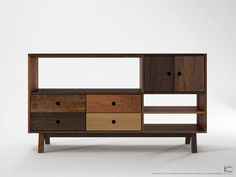 Sideboard 4 Drawers 2 Doors 3 Niches