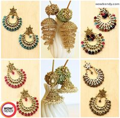 Handmade jewellery have gained more popularity than mass-produced jewellery. Add stars to your Mother beauty and make her feel special on this mother's day with these beautiful danglers. Visit @http://goo.gl/NU8MIS for more.. !!! #imitation #jewelry #stones #danglers #drops #earrings #handicrafts #handmade #wowtrendy