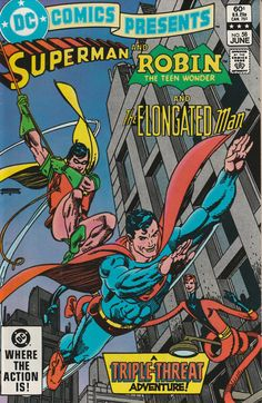DC Comics Presents Vol. 6 No. 58  1983  Superman and Robin the Teen Wonder and the Elongated Man by TheSamAntics