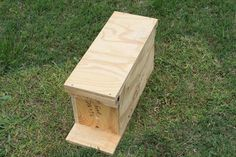 Beekeepers who need to start splitting hives to prevent them from swarming will want to know how to make their own nuc (nucleus colony) box.