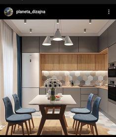 Kitchen Room Design, Kitchen Cabinet Design, Modern Kitchen Design, Home Decor Kitchen, Interior Design Kitchen, Home Kitchens, Kitchen Modular, Modern Kitchen Interiors, Pantry Design