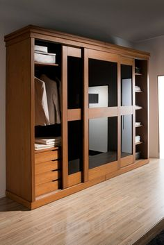 Minimalist Furniture Design Cupboards Ideas For 2019 Wardrobe Design Bedroom, Bedroom Bed Design, Bedroom Furniture Design, Bedroom Wardrobe, Home Room Design, Home Decor Furniture, Bedroom Cupboard Designs, Bedroom Cupboards, Wardrobe Door Designs