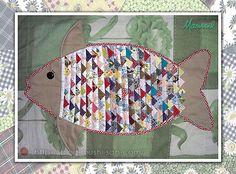 Marissel: Mini-tapete de peixe - Blog³ - Blog ao Cubo