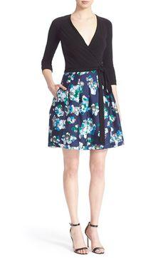 DIANE VON FURSTENBERG 'Jewel' Print Wrap Dress. #dianevonfurstenberg #cloth #