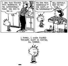 Funny Picture Jokes, Funny Pictures, Calvin And Hobbes Wallpaper, Funny Cartoons, Say Hi, To My Daughter, Dankest Memes, Decir No, Pop Art