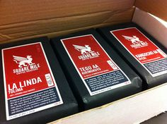 If you can't get to a coffee shop, we recommend Square Mile coffee - you can pick it up at Lantana and Kaffeine..