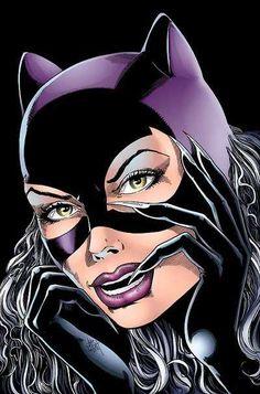 Catwoman sesso cartone animato nero lesbean porno
