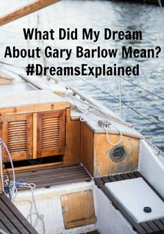 What Did My Dream About Gary Barlow Mean?