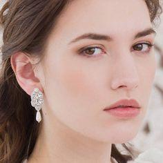 Britten Weddings Silver Wedding Earrings