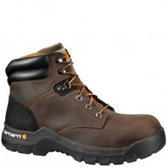 CMF6366 Carhartt Men's Rugged Flex Safety Boots - Brown www.bootbay.com