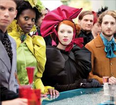 """""""The Hunger Games"""" costumes"""
