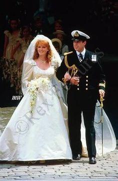 "Prince Andrew and Princess Sarah Ferguson ""Fergie"""