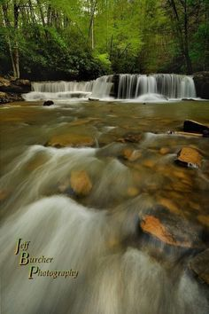 Mash Fork Flow.  I had the good fortune to  stop and shoot a couple waterfalls in the New River Gorge in West Virginia last Friday morning, before heading down to North Carolina for a long weekend. Mash Fork Falls is located in Camp Creek State Park and is only a few miles off the interstate, making it a really attractive spot to stop and shoot for a while. I was doubly fortunate that the area had received quite a bit of rain the preceding week, making the falls extremely photogenic.--JBP