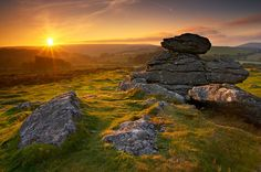 Hound Tor - Dartmoor - Devon.  Anyone who went to school in Devon in the 1980s probably has experience of 'Ten Tors'.