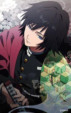 Tomioka Giyu : Kimetsu no Yaiba - Boys Love Manga Fans Otaku Anime, M Anime, Anime Kawaii, Anime Demon, Demon Slayer, Slayer Anime, Manga Japan, Fan Art Anime, Anime Kunst