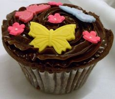 Chocolate Butterfly Butterfly Cupcake