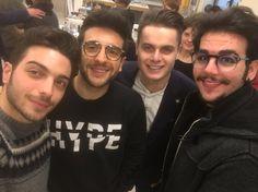 Repost tizio3010  Il Volo #pranzi #pranziimportanti #lunch #lunchtime #music #ilvolo #italy #italymusic