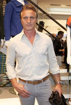 Former #FrenchFootballer (#SoccerPlayer) David Ginola