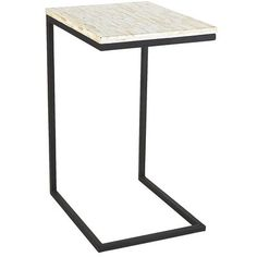 Have (similar): Similar To One Of Two Shell Top C Table Purchased