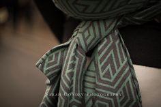 Woven Wings Geo Portobello Road Wrap (wool)
