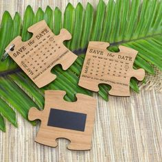 Found that missing piece of the puzzle that completes you. Announce the date of your wedding to your guests with this wonderful wooden engraved LIMITED EDITION SET Engraved Wooden Puzzle Wedding Invitation with Save the Date. Wedding Favours, Wedding Cards, Diy Wedding, Wedding Gifts, Wedding Souvenir, Nautical Wedding, Rustic Wedding, Wedding Ideas, Save The Date Wedding