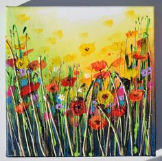 Buy Floral Boom, Acrylic painting by Amanda Dagg on Artfinder. Discover thousands of other original paintings, prints, sculptures and photography from independent artists.