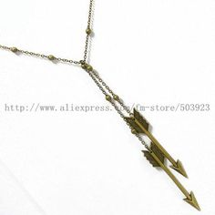 Hunger Games Jewelry Necklace Bow Pendant Antique Silver Charm Chain ...
